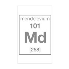 Mendelevium Rectangle Decal