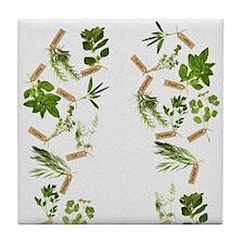 herbs Tile Coaster