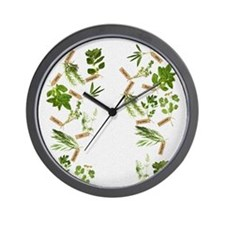 herbs Wall Clock