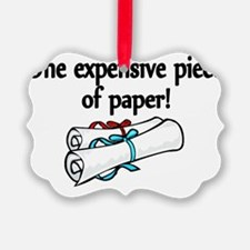 One expensive piece of Paper! Ornament
