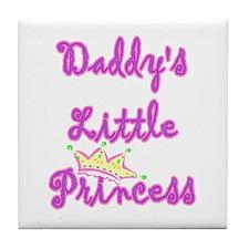 Daddy's Princess Tile Coaster
