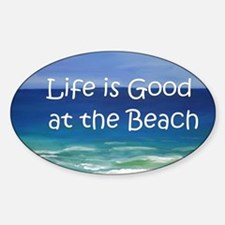 Beach Sticker (Oval)