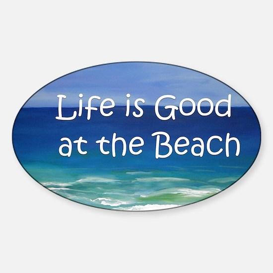 Beach Sticker (Oval)
