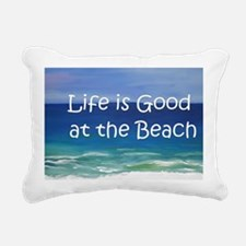 Beach Rectangular Canvas Pillow