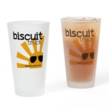 Biscuit Truck Drinking Glass