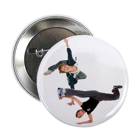 """Breakdance 2.25"""" Button"""