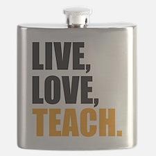 live, love, teach Flask