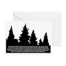 artisan organic Greeting Card