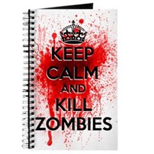 KEEP CALM AND KILL ZOMBIES Journal