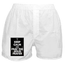 Keep Calm - Jesus Prayer Boxer Shorts