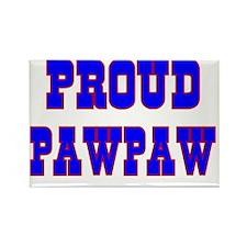 Proud Pawpaw Rectangle Magnet