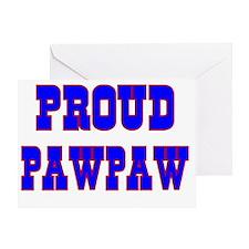 Proud Pawpaw Greeting Card