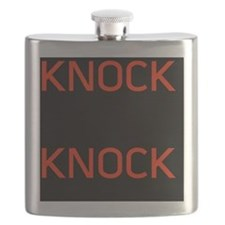 Knock Knock Flask