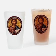 Jesus Prayer Drinking Glass