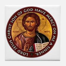 Jesus Prayer Tile Coaster
