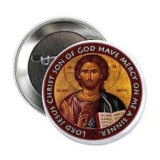 "Jesus Prayer 2.25"" Button"