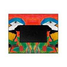 Parrot Head Picture Frame