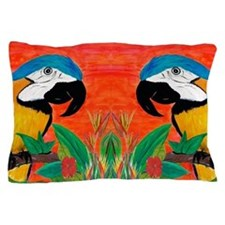 Parrot Head Pillow Case