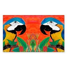 Parrot Head Decal