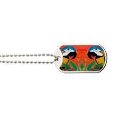 Parrot Head Dog Tags