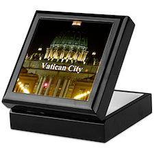 VaticanCity_2.5x3.5_Ornament (Oval)_S Keepsake Box