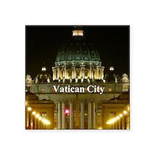 """VaticanCity_2.5x3.5_Ornamen Square Sticker 3"""" x 3"""""""