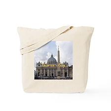VaticanCity_6x6_apparel_Saint Peters Basi Tote Bag