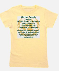 WE THE PEOPLE OF THE UNITED STATES OF A Girl's Tee