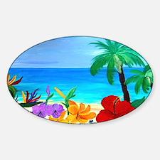Tropical Beach Stickers
