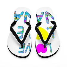 Love Love Nana Flip Flops