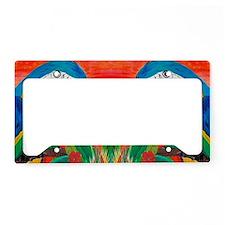 Parrot Head License Plate Holder