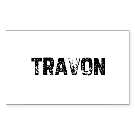Travon Rectangle Sticker