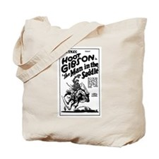 Hoot Gibson Man in Saddle Tote Bag