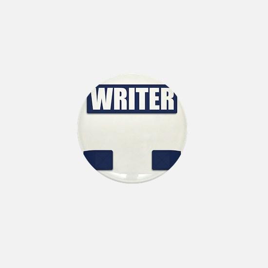Writer Bullet-Proof Vest Mini Button