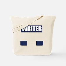 Writer Bullet-Proof Vest Tote Bag