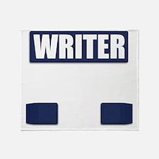 Writer Bullet-Proof Vest Throw Blanket
