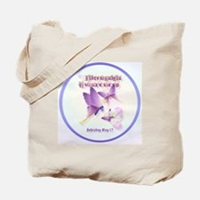 CircleFibromyalgia Awareness Tote Bag