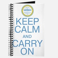 Boston Keep Calm And Carry On Journal