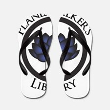 Planeswalkers Library Logo Flip Flops