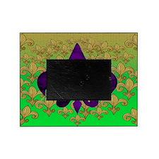 Purple fleur de lis Picture Frame