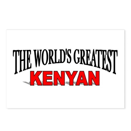 """""""The World's Greatest Kenyan"""" Postcards (Package o"""