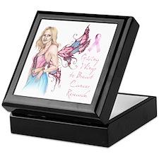 Breast Cancer Fairy Keepsake Box