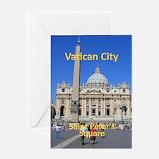VaticanCity_8.887x11.16_iPadSleeve_S Greeting Card
