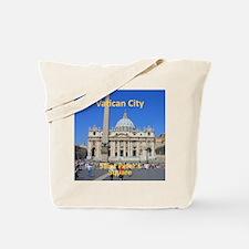 VaticanCity_8.887x11.16_iPadSleeve_SaintP Tote Bag