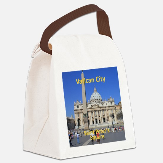 VaticanCity_8.887x11.16_iPadSleev Canvas Lunch Bag