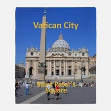 VaticanCity_8.887x11.16_iPadSleeve_S Throw Blanket