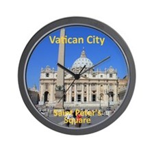 VaticanCity_8.887x11.16_iPadSleeve_Sain Wall Clock
