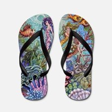 Mermaid Shower! Flip Flops