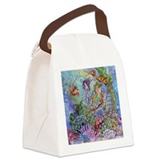 Mermaid Shower! Canvas Lunch Bag
