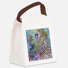 Mermaid Shower! Canvas Lunch Bag